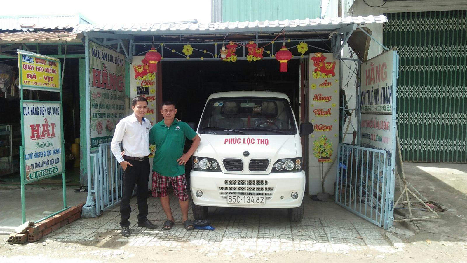 Anh Hải với nhu cầu mua xe tải nhẹ nên đã quyết định chọn mua xe tải Hyundai DF tại đại lý Hyundai Miền Nam