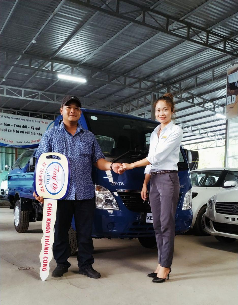 Anh Nam ở Vĩnh Long đã quyết định chọn mua xe tải Hyundai TATA tại Đại Lý Hyundai Miền Nam.