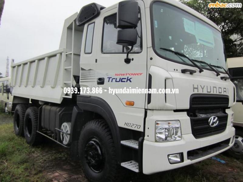 Xe ben Hyundai 15 tấn HD270