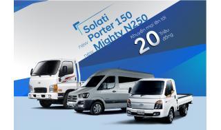 khuyến mại 20 triệu đồng cho 3 sản phẩm xe thương mại
